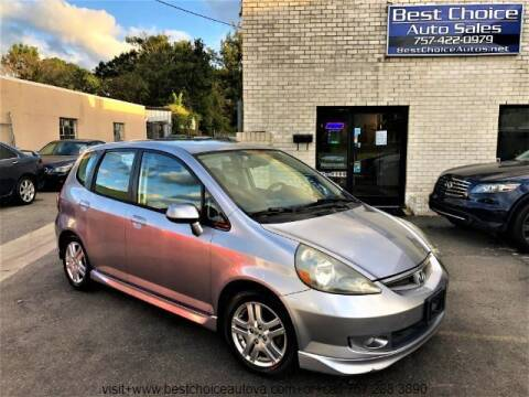 2008 Honda Fit for sale at Best Choice Auto Sales in Virginia Beach VA