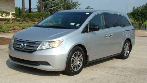 2012 Honda Odyssey for sale at Red Rock Auto LLC in Oklahoma City OK