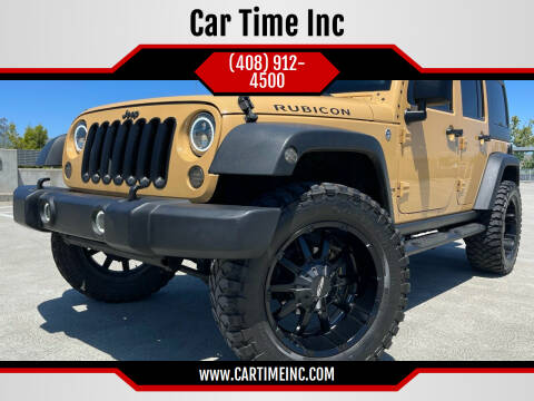2013 Jeep Wrangler Unlimited for sale at Car Time Inc in San Jose CA