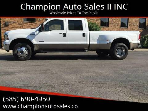 2007 Ford F-350 Super Duty for sale at Champion Auto Sales II INC in Rochester NY