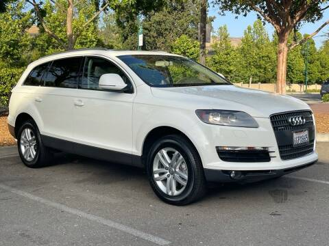 2009 Audi Q7 for sale at CARFORNIA SOLUTIONS in Hayward CA