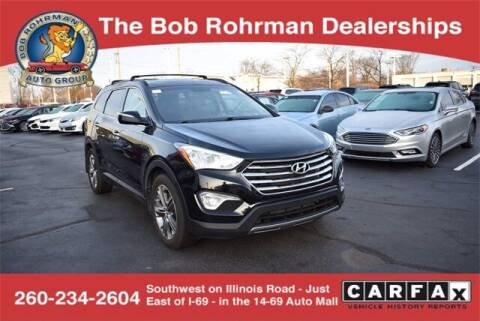 2014 Hyundai Santa Fe for sale at BOB ROHRMAN FORT WAYNE TOYOTA in Fort Wayne IN