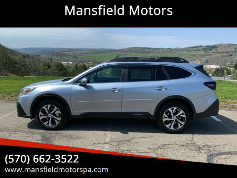 2020 Subaru Outback for sale at Mansfield Motors in Mansfield PA