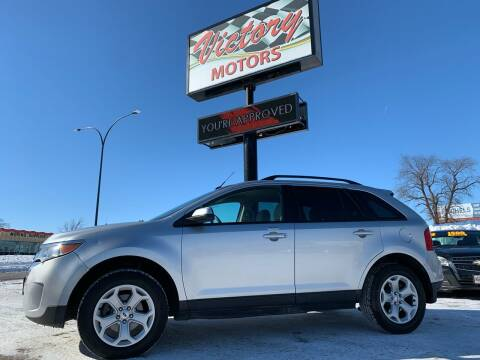2013 Ford Edge for sale at Victory Motors in Waterloo IA
