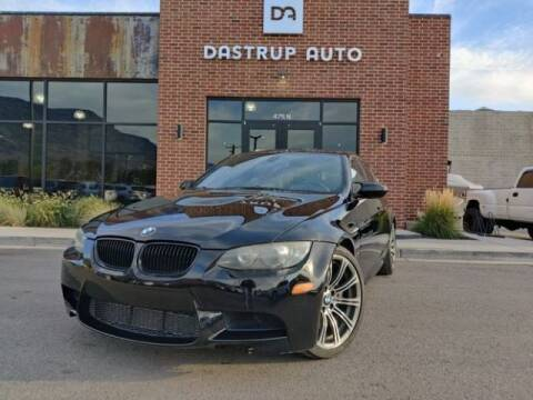 2009 BMW M3 for sale at Dastrup Auto in Lindon UT