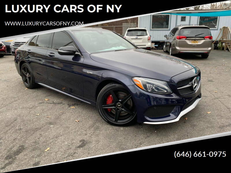 2017 Mercedes-Benz C-Class for sale at LUXURY CARS OF NY in Queens NY