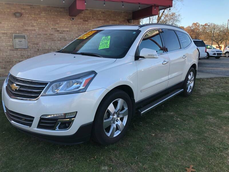 2013 Chevrolet Traverse for sale at Murdock Used Cars in Niles MI