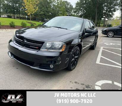 2013 Dodge Avenger for sale at JV Motors NC LLC in Raleigh NC