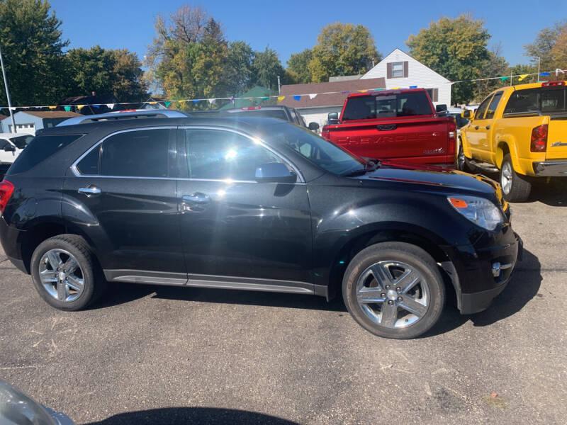2015 Chevrolet Equinox for sale at Los Arreglados Auto Sales in Worthington MN