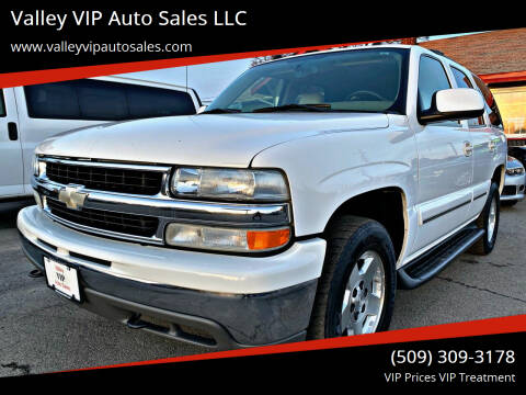 2004 Chevrolet Tahoe for sale at Valley VIP Auto Sales LLC in Spokane Valley WA