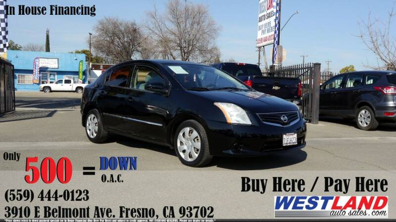 2012 Nissan Sentra for sale at Westland Auto Sales in Fresno CA