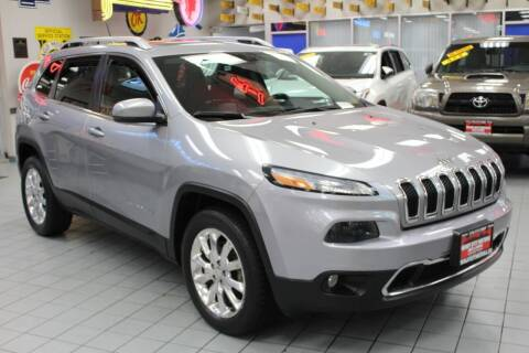 2014 Jeep Cherokee for sale at Windy City Motors in Chicago IL
