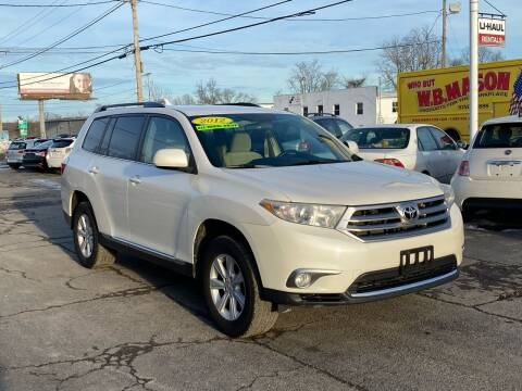 2012 Toyota Highlander for sale at MetroWest Auto Sales in Worcester MA