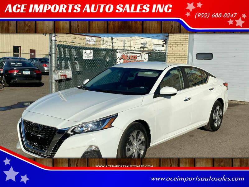 2020 Nissan Altima for sale at ACE IMPORTS AUTO SALES INC in Hopkins MN