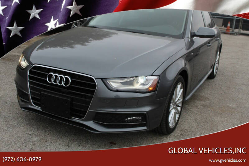 2014 Audi A4 for sale at Global Vehicles,Inc in Irving TX