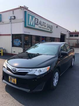 2012 Toyota Camry for sale at MR Auto Sales Inc. in Eastlake OH