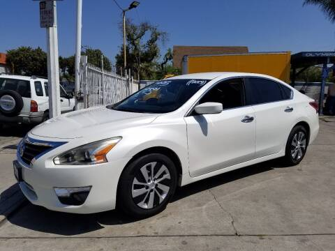 2013 Nissan Altima for sale at Olympic Motors in Los Angeles CA