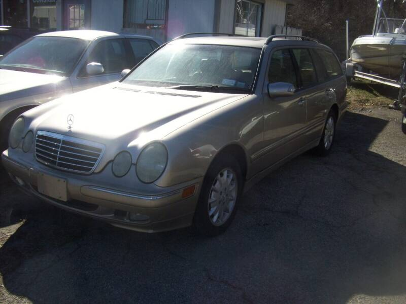 2002 Mercedes-Benz E-Class for sale at Rooney Motors in Pawling NY