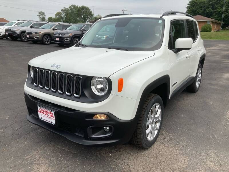 2015 Jeep Renegade for sale at Louisburg Garage, Inc. in Cuba City WI