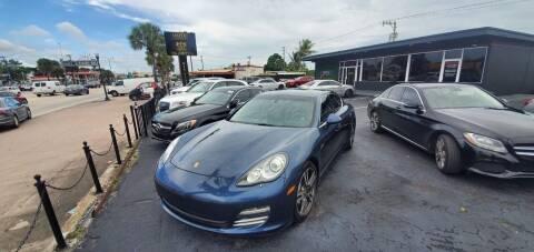 2014 Porsche Panamera for sale at Empire Car Sales in Miami FL