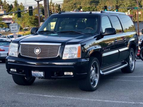 2003 Cadillac Escalade ESV for sale at West Coast Auto Works in Edmonds WA