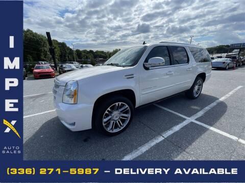 2013 Cadillac Escalade ESV for sale at Impex Auto Sales in Greensboro NC