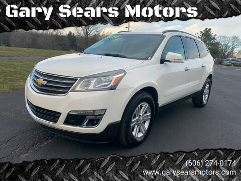 2014 Chevrolet Traverse for sale at Gary Sears Motors in Somerset KY