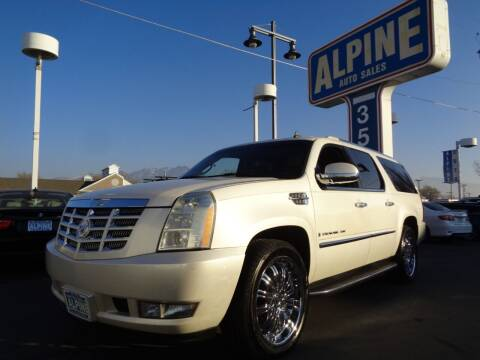 2008 Cadillac Escalade ESV for sale at Alpine Auto Sales in Salt Lake City UT