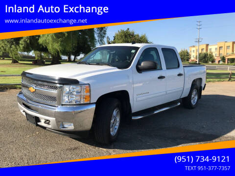 2013 Chevrolet Silverado 1500 for sale at Inland Auto Exchange in Norco CA