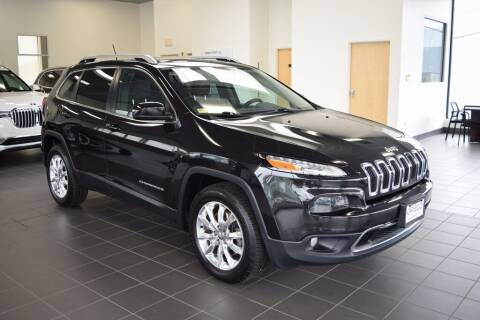 2015 Jeep Cherokee for sale at BMW OF NEWPORT in Middletown RI