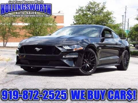 2018 Ford Mustang for sale at Hollingsworth Auto Sales in Raleigh NC