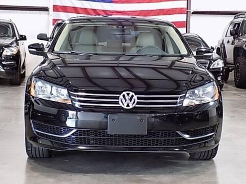 2014 Volkswagen Passat for sale at Texas Motor Sport in Houston TX