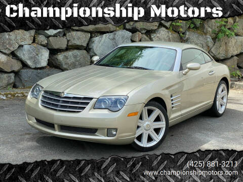 2008 Chrysler Crossfire for sale at Championship Motors in Redmond WA