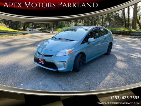 2014 Toyota Prius for sale at Apex Motors Parkland in Tacoma WA