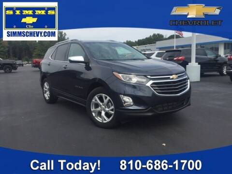 2018 Chevrolet Equinox for sale at Aaron Adams @ Simms Chevrolet in Clio MI
