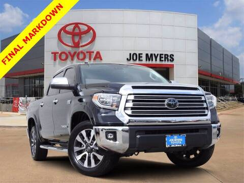 2018 Toyota Tundra for sale at Joe Myers Toyota PreOwned in Houston TX