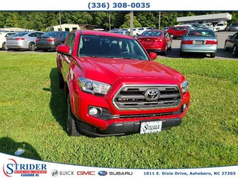 2017 Toyota Tacoma for sale at STRIDER BUICK GMC SUBARU in Asheboro NC