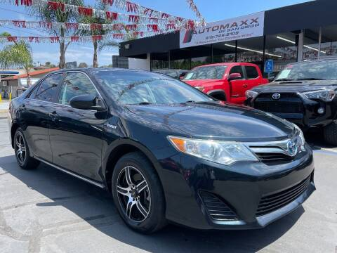 2013 Toyota Camry Hybrid for sale at Automaxx Of San Diego in Spring Valley CA