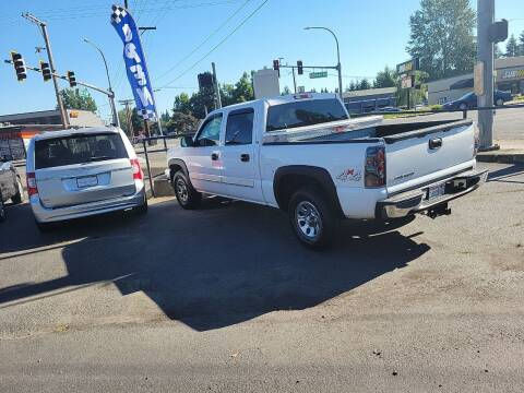 2007 Chevrolet Silverado 1500 Classic for sale at Bonney Lake Used Cars in Puyallup WA