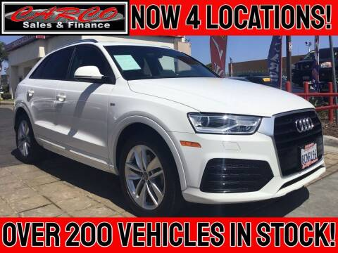 2018 Audi Q3 for sale at CARCO SALES & FINANCE - CARCO OF POWAY in Poway CA