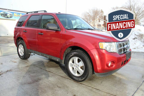 2012 Ford Escape for sale at K & L Auto Sales in Saint Paul MN