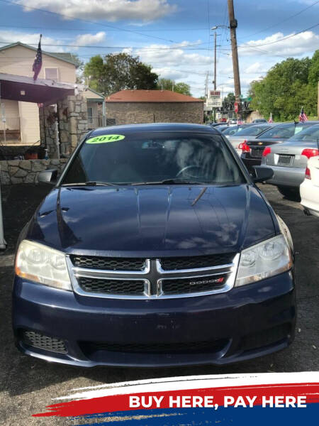 2014 Dodge Avenger for sale at DestanY AUTOMOTIVE in Hamilton OH