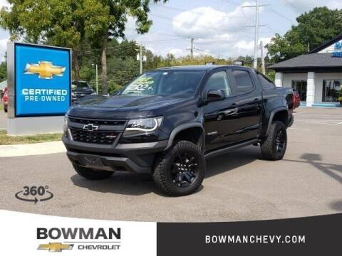 2018 Chevrolet Colorado for sale at Bowman Auto Center in Clarkston MI