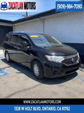 2014 Nissan Quest for sale at Ontario Auto Square in Ontario CA