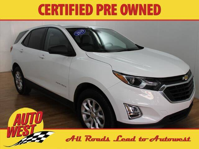 2019 Chevrolet Equinox for sale at Autowest of GR in Grand Rapids MI