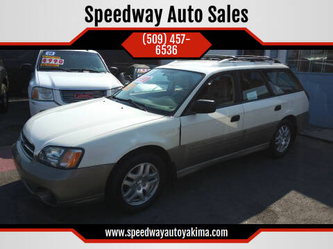 2002 Subaru Outback for sale at Speedway Auto Sales in Yakima WA