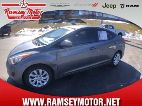 2013 Hyundai Elantra for sale at RAMSEY MOTOR CO in Harrison AR
