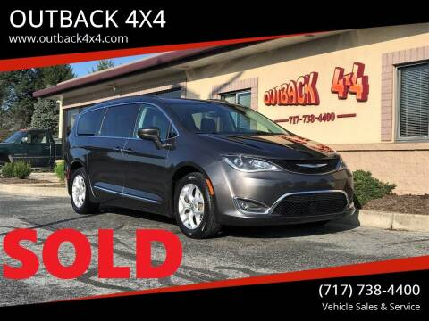 2017 Chrysler Pacifica for sale at OUTBACK 4X4 in Ephrata PA