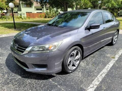 2014 Honda Accord for sale at Fort Lauderdale Auto Sales in Fort Lauderdale FL