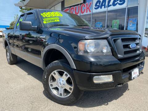 2004 Ford F-150 for sale at Xtreme Truck Sales in Woodburn OR